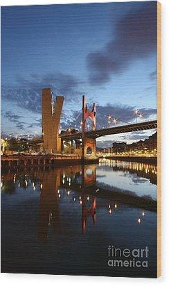 Bilbao 4 Wood Print