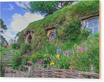 Bilbo Baggins House 1 Wood Print
