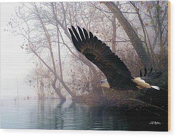 Bilbow's Eagle Wood Print