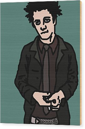 Billie Joe Armstrong Wood Print by Jera Sky