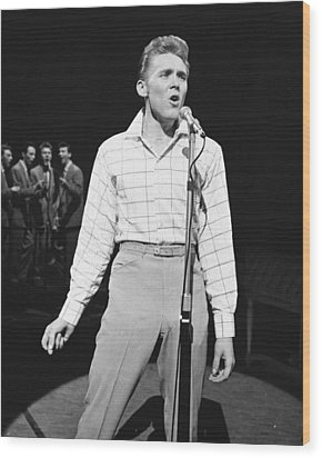 Billy Fury Wood Print by Silver Screen