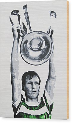 Billy Mcneill - Glasgow Celtic Fc Wood Print