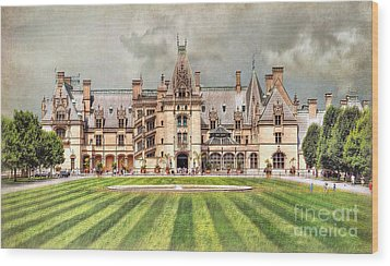 Biltmore House Wood Print