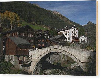 Wood Print featuring the photograph Binn by Travel Pics
