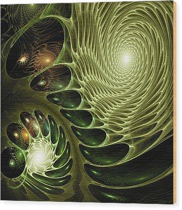 Bio Wood Print by Anastasiya Malakhova