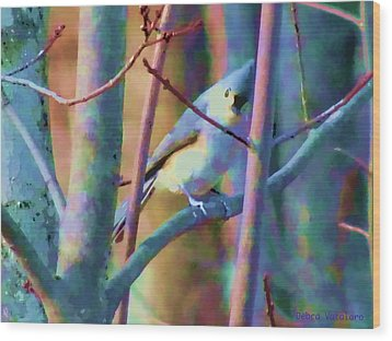 Bird Of Another Color Wood Print
