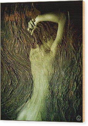 Birth Of A Dryad Wood Print