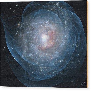 Birth Of A Galaxy Wood Print by Gun Legler