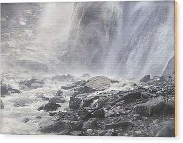 Wood Print featuring the photograph Birth Of A River by Colleen Williams