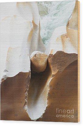 Birthing Yoni Wood Print