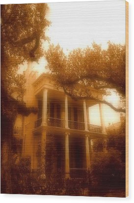 Birthplace Of A Vampire In New Orleans, Louisiana Wood Print