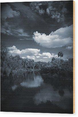 Bishop Harbor Wood Print by Phil Penne