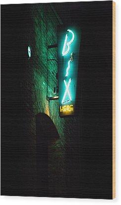 Bix Restaurant San Francisco Wood Print by SFPhotoStore
