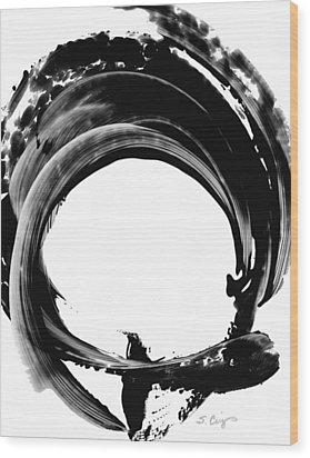 Black Magic 304 By Sharon Cummings Wood Print