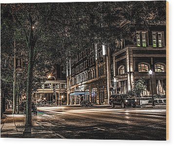 Blackhawk Hotel Wood Print by Ray Congrove