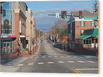 Blacksburg Virginia Wood Print