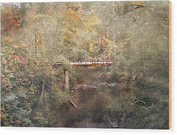 Blackwell Bridge Wood Print by Brent Craft
