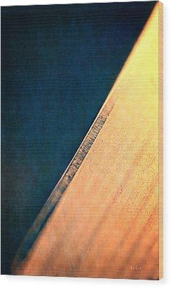 Blade Wood Print by Bob Orsillo
