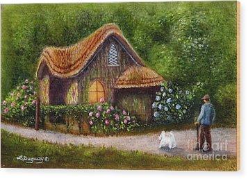 Blaise Rustic Cottage Wood Print