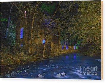 Wood Print featuring the photograph Blanchard's Mill by Keith Kapple