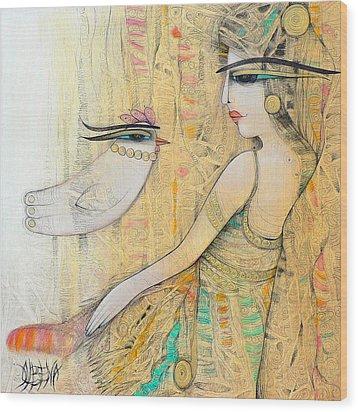 Blanche Wood Print