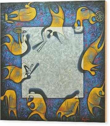 Blank Wood Print
