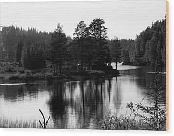 Blessed Landscape Wood Print