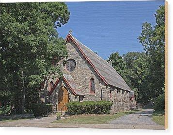 Blessed Sacrament Chapel Wood Print