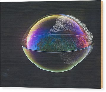 Wood Print featuring the photograph Blink Of An Eye by Terry Cosgrave