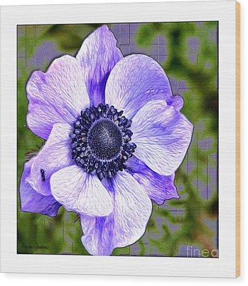 Bloem Wood Print