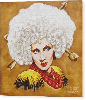 Blonde Venus Wood Print by Joseph Sonday