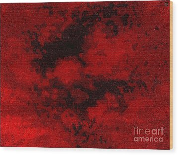 Wood Print featuring the photograph Blood Sky by Andy Heavens