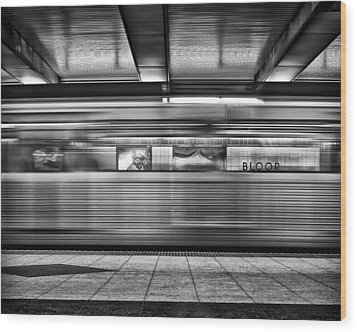Wood Print featuring the photograph Bloor by Brian Carson