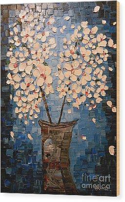 Blossom Bouquet Wood Print by Alexandru Rusu
