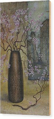 Blossom Wood Print by Vrindavan Das