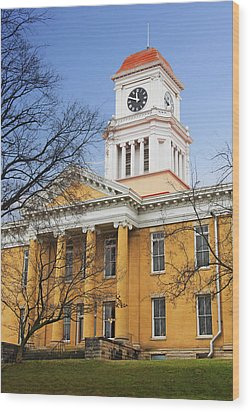 Blount County Courthouse Wood Print
