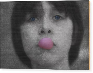 Blowing Bubbles Wood Print by Melanie Lankford Photography