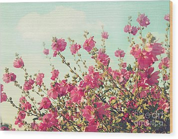 Wood Print featuring the photograph Blowing In The Wind by Sylvia Cook