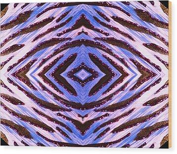 Blue 42 Wood Print by Drew Goehring