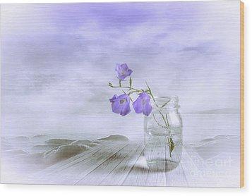 Blue Bells Wood Print by Veikko Suikkanen