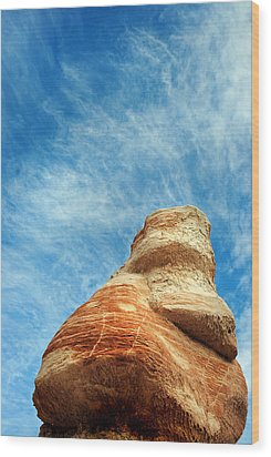 Blue Canyon 65 Wood Print