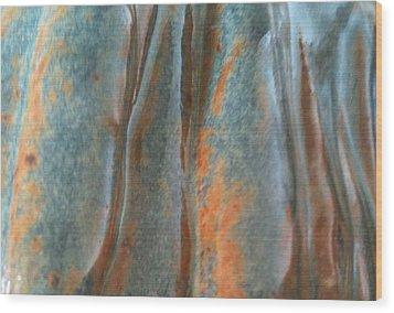 Blue Canyon Wood Print by Jillian ODwyer
