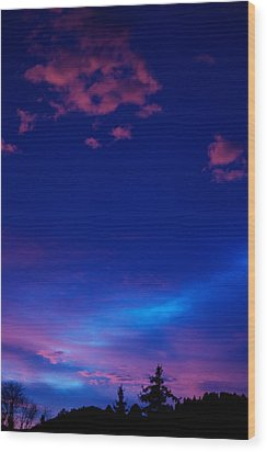 Blue Heaven  Wood Print by Kevin Bone