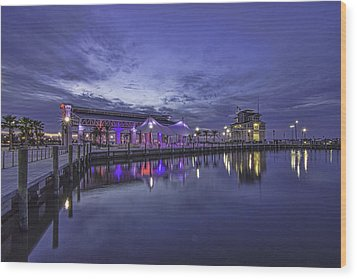 Blue Hour Dawn Wood Print by Brian Wright