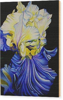 Blue Magic Wood Print by Bruce Bley