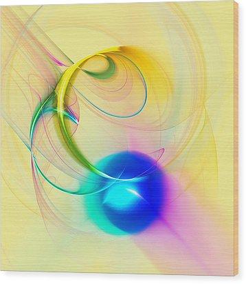 Blue Note Wood Print by Anastasiya Malakhova