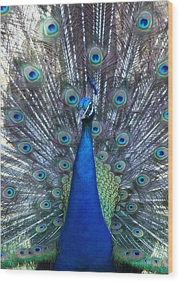 Blue Pearl Of Nature Wood Print