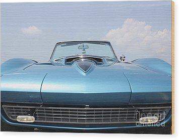 Blue Ray Wood Print by Paul Cammarata