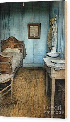 Blue Room Wood Print by Jill Battaglia