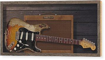 Blues Tools Wood Print by WB Johnston
